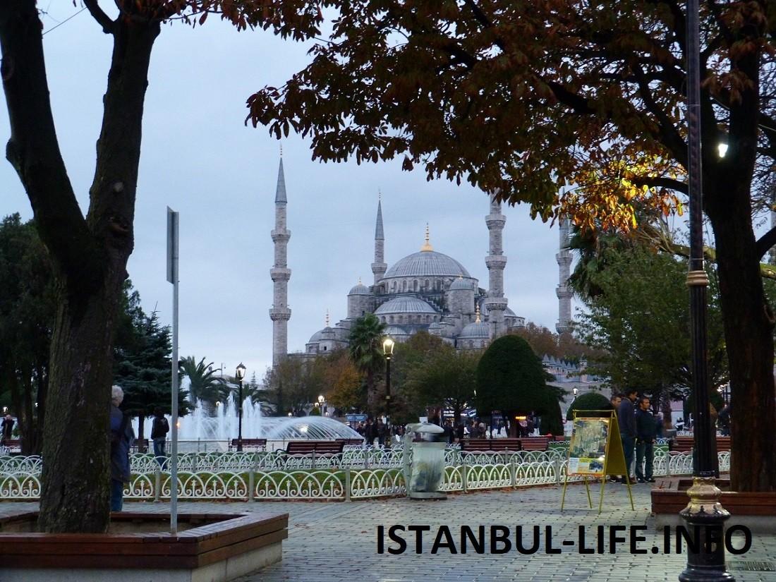 Голубая мечеть в Стамбуле фото история и интересные факты