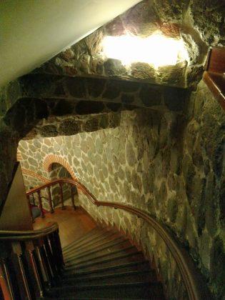Галатская башня внутри