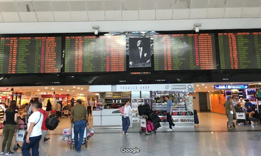 Аэропорт Ататюрка внутри