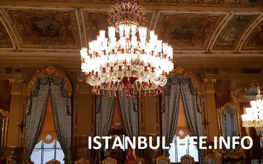 Стамбул за 3 дня - Дворец Домабахче