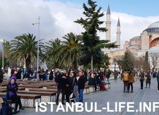 Стамбул в апреле - погода