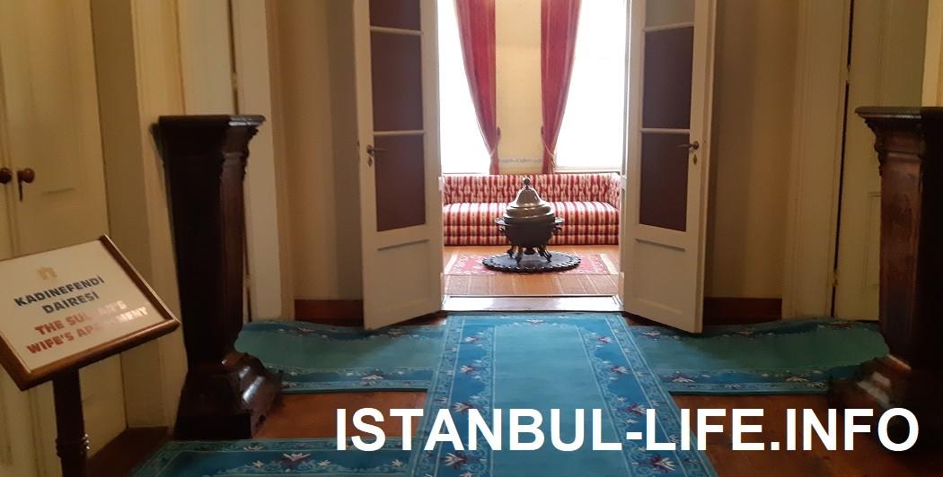 Гарем Долмабахче: вход в покои султанской жены