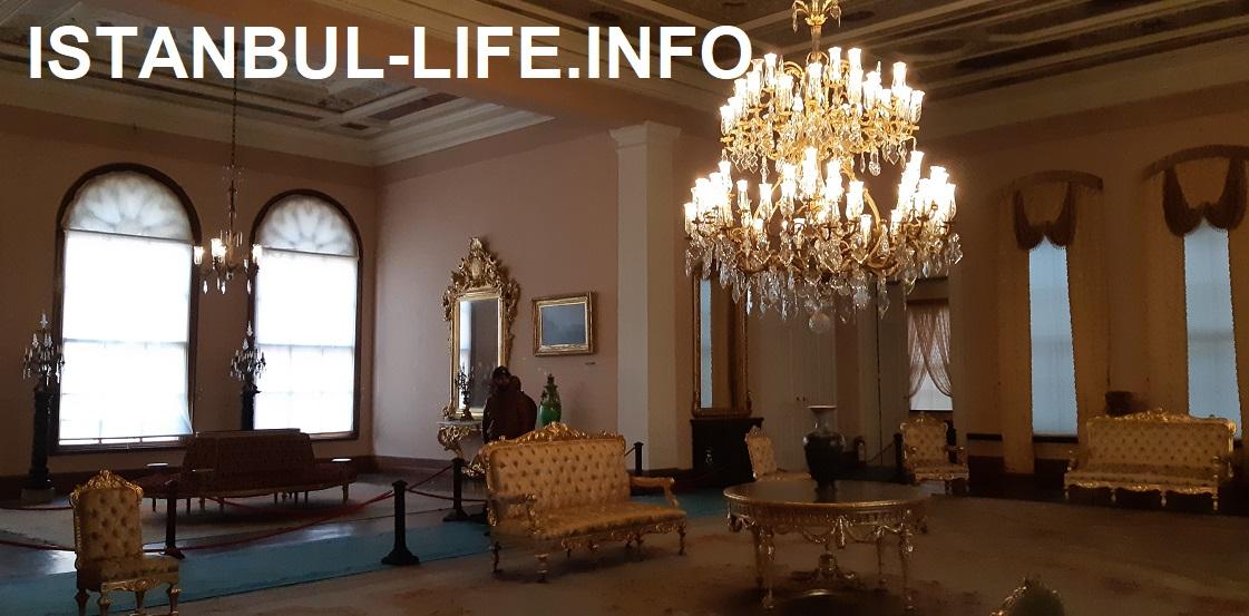 Долмабахче дворец внутри