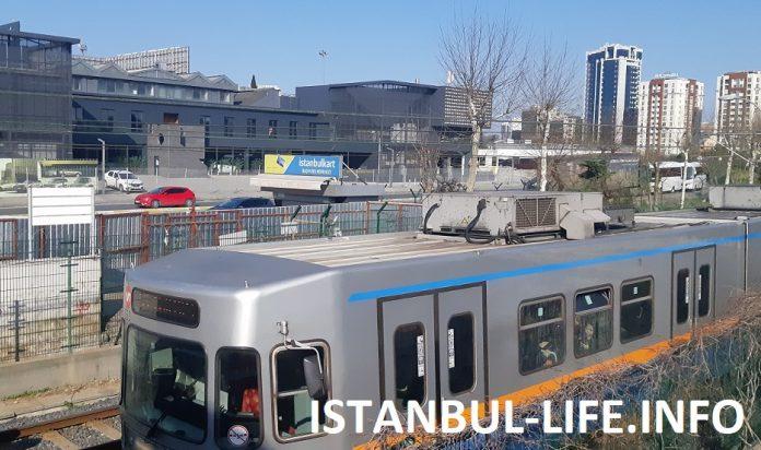 Метро в Стамбуле 2019