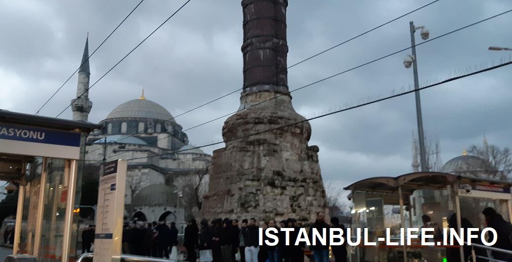 Колонна Константина Стамбул