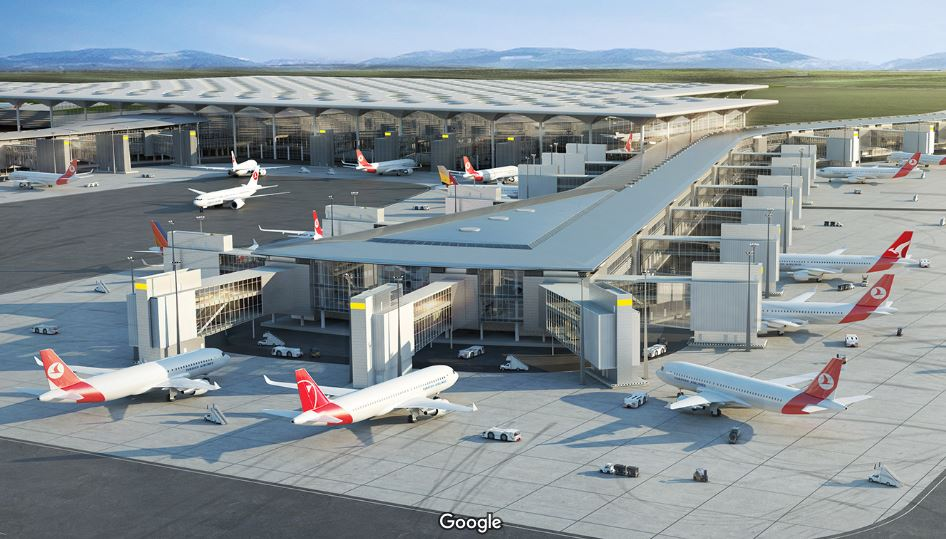 Aeroport Stambul Kak Dobratsya Karta Adres Onlajn Tablo