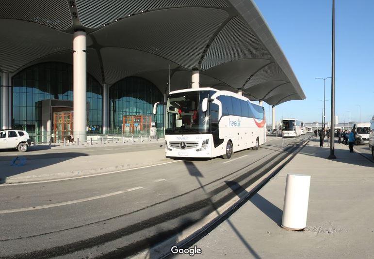 Автобусы из аэропорта в центр