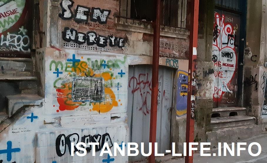 район Галата в Стамбуле