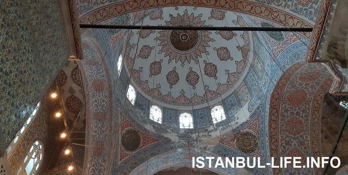 Голубая мечеть Султана Ахмета внутри