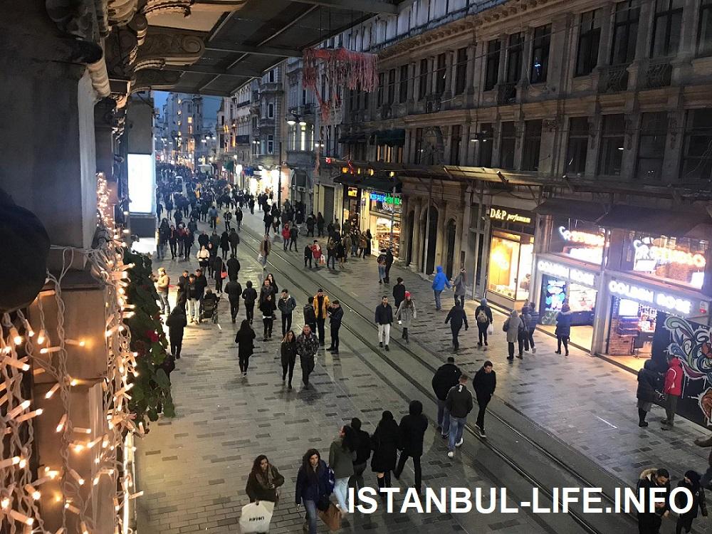 Стамбул за 3 дня - Улица Истикляль