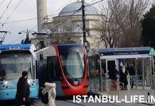 Трамваи Стамбула карта