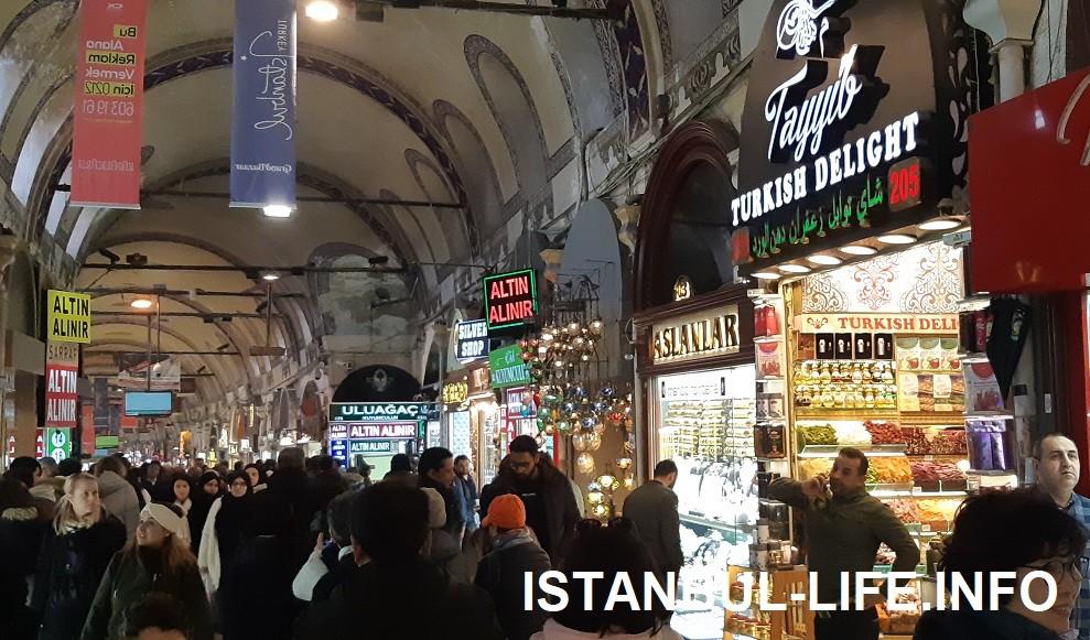 Что посмотреть в Стамбуле, как не Гранд-базар