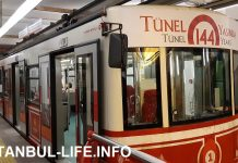 Фуникулер Тюнель в Стамбуле
