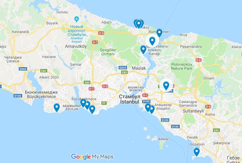 Все о Стамбуле для туриста: как добраться, где отдохнуть, основные достопримечательности курорта
