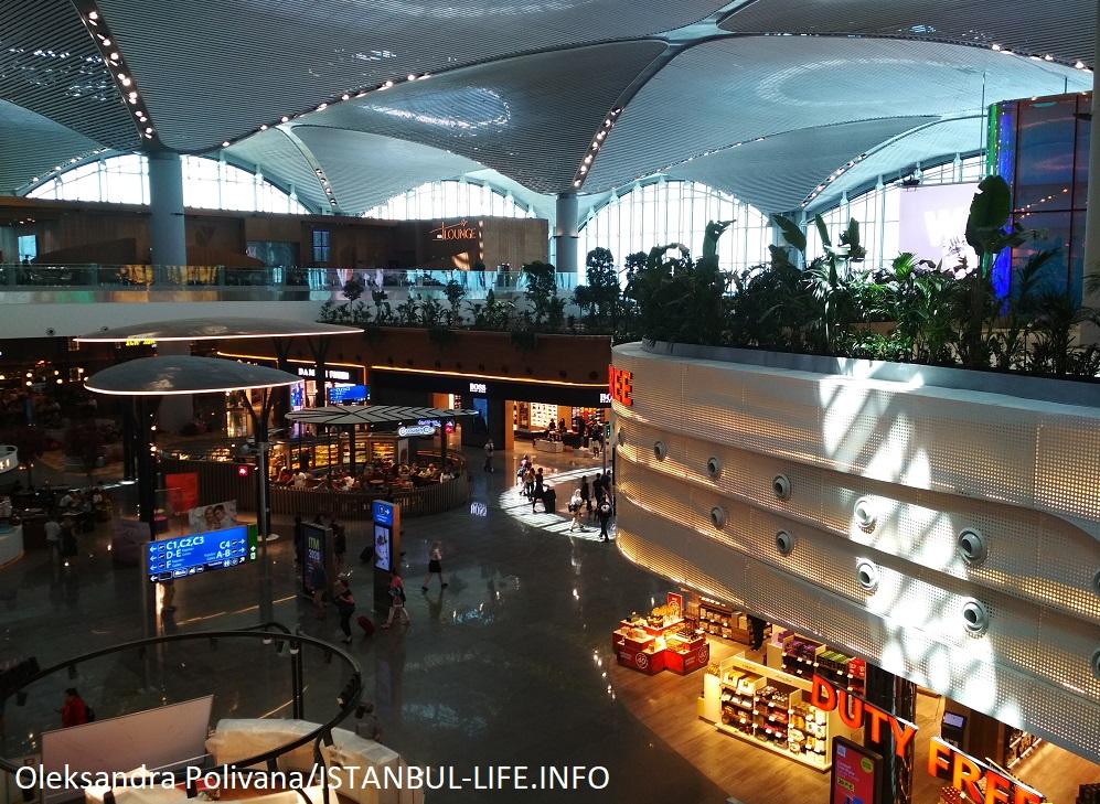 Панорама аэропорта Стамбул