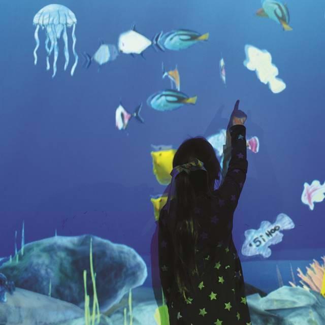 Цифровой океанариум Си лайф