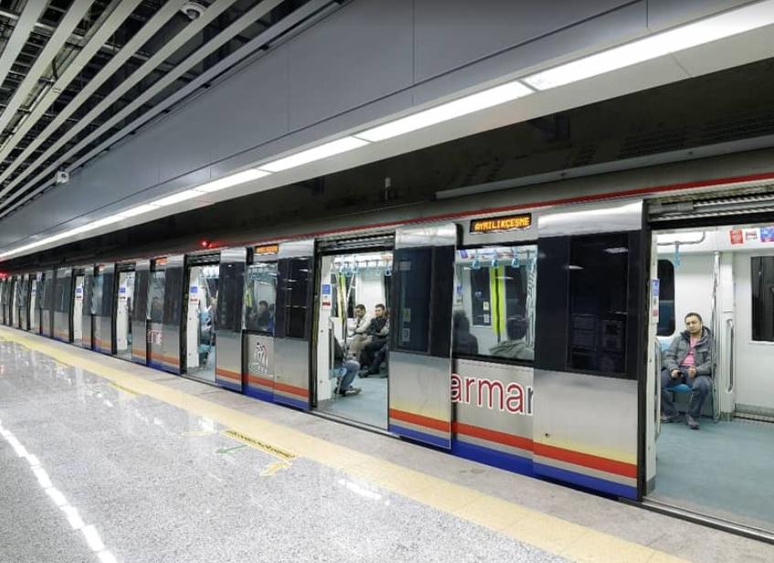 Метро стамбула схема - Общественный транспорт