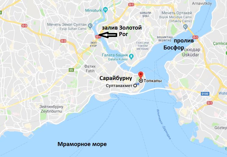Centr Stambula Na Karte Karta Centra Stambula Istanbul Life Info