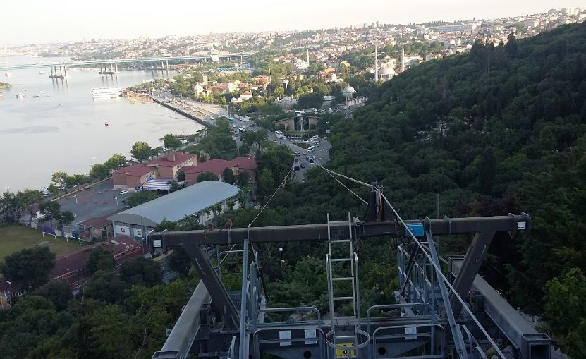 Канатная дорога Эйюп в Стамбуле