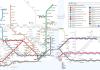 Карта общественного транспорта Стамбула