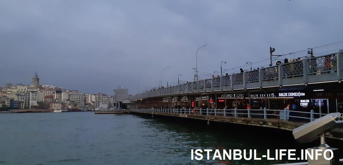 Галатский мост - Стамбул на 5 дней