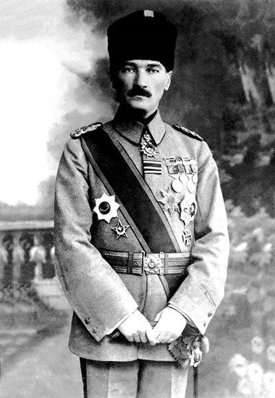 Мустафа Ататюрк изменил историю Стамбула