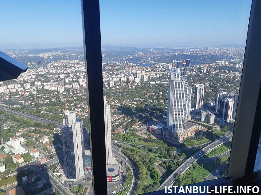 Стамбул в июне - небоскреб Сапфир