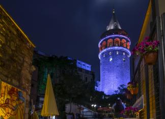 Галатская башня Стамбул