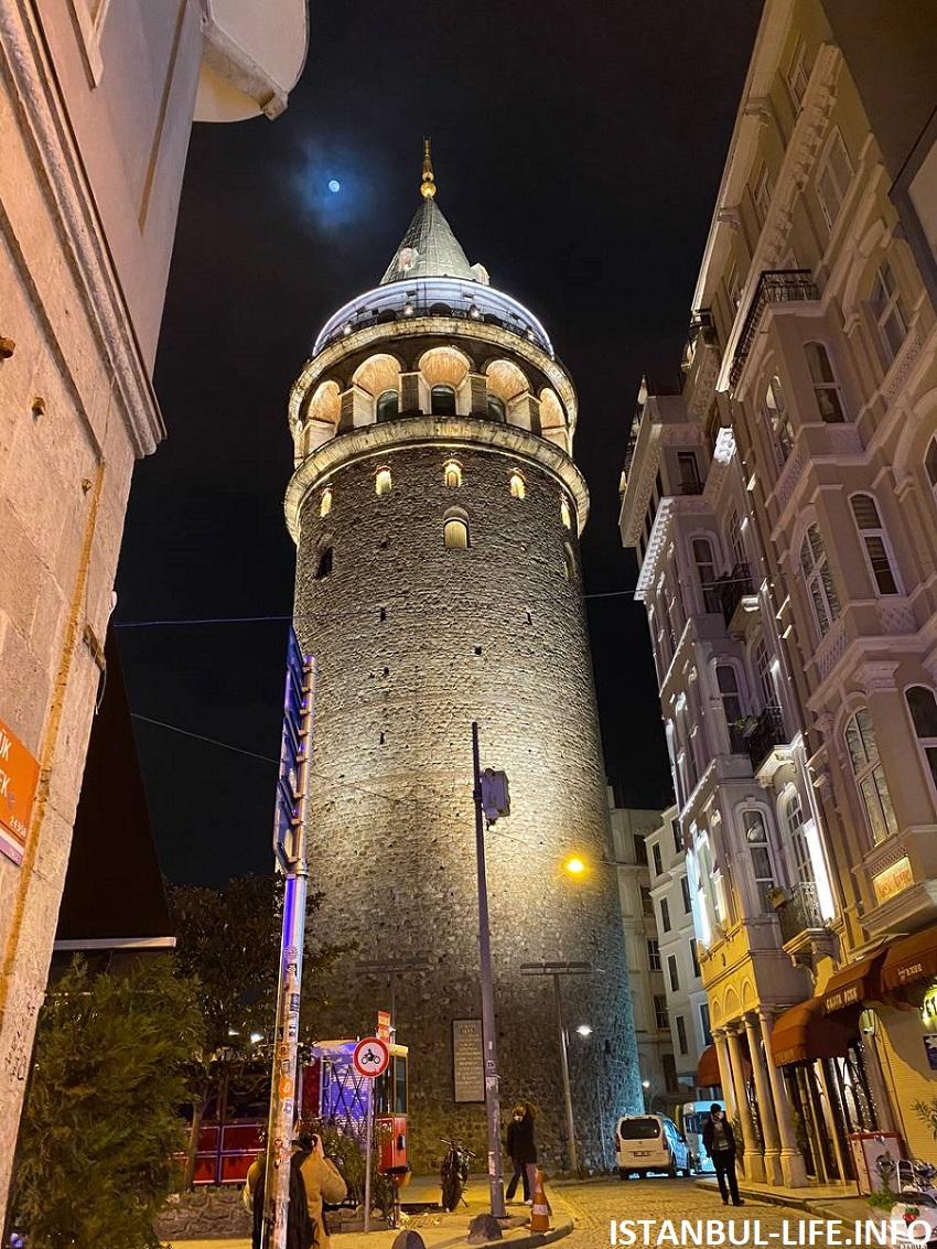 Галатская башня - достопримечательности Стамбула