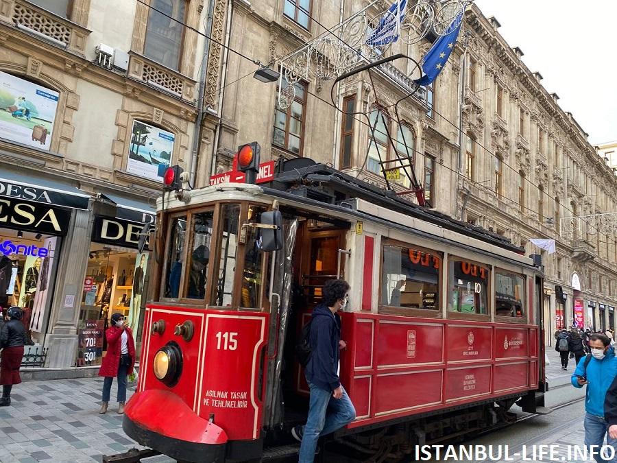 Трамвай на Истикляле